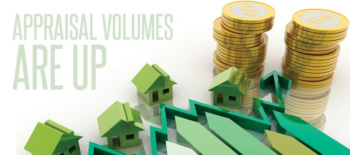 Appraisal Volume Rises